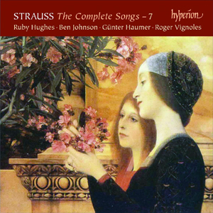 Recordings Strauss Songs Cover 915