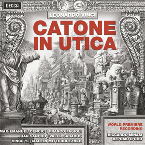 Recordings Catone in utican Cover 116