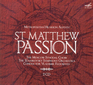 Recordings Matthew Passion Cover 116