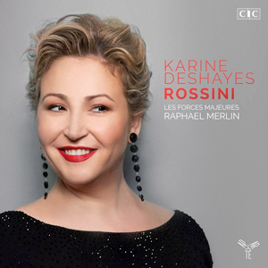 Recordings Karine Deshays Rossini Cover 1016