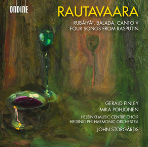 Recordings Rautavaara Rubaiyat Cover 1016