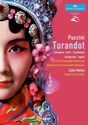 Recordings Turandot Cover Guleghina DVD 1016