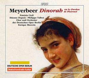 Recordings Dinorah CD Cover 1116