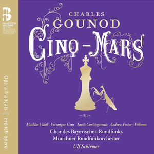 Recordings Gounod Cinq Mars Cover 1216