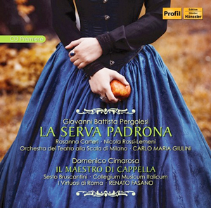 Recordings Serva Padrona Cover 1216