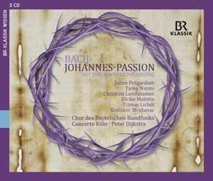 Recordings John Passion Cover 916