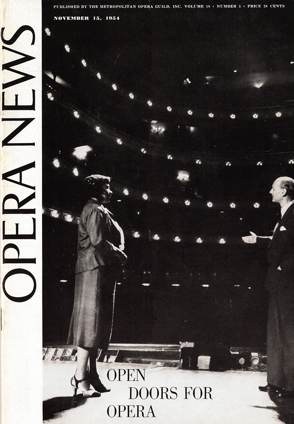 Open Doors for Opera Cover 716