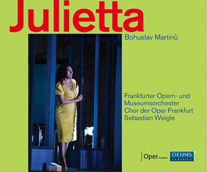 Recordings Julietta Cover 117