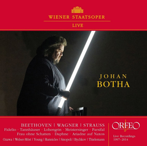 Recordings Johan Botha Live cover 1017