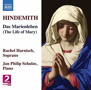 Recordings Hindemith Marienleben cover 1017