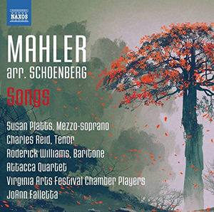 Recordings Mahler Songs Cover 417