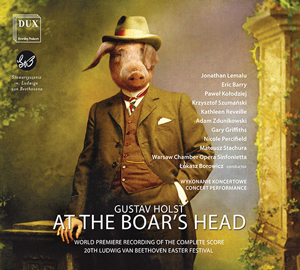 Recordings Holst Boar's Head lg 717