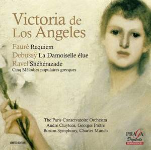 Recordings Victoria de los Angeles Cover 917