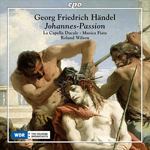 Recordings Johannes Passion Handel Cover 1218