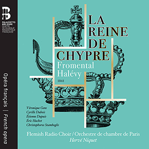 Recordings Reine de Chypre cover 1218